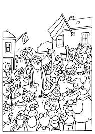 Sinterklaas Kleurplaten Sinterklaas En Zwarte Pieten Pakken