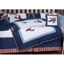 vintage airplane crib bedding set