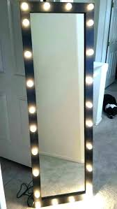 stand up mirror with lights lovetoread me