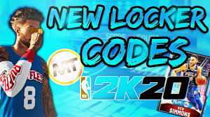 2 new myteam locker codes nba 2k20