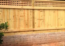 Hidden Gate English Box Lattice Topped Privacy Fence Apex Fence Company