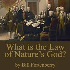 what is the law of nature s god