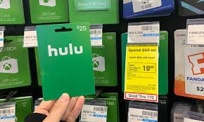 save 10 00 on hulu gift cards at cvs