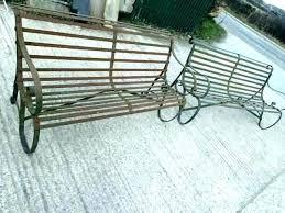 wrought iron bench seat juancasmoda co