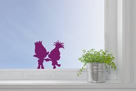Trolls Movie Wall Sticker Princess Poppy Decal Mirshka Studio