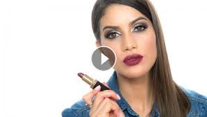 top 5 lipsticks in burgundy and purple