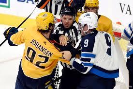 Predators' Ryan Johansen suspended 2 games for high-sticking
