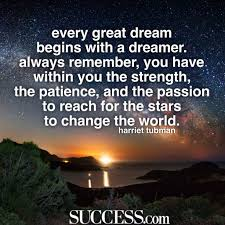 inspiring quotes about being a dreamer success