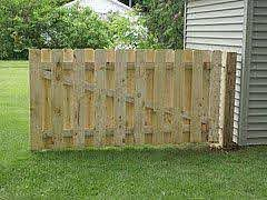 Build A Big Gate In A Fence Wide Enough For A Car Backyard Fences Building A Fence Building A Wooden Gate
