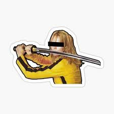 Kill Bill Stickers Redbubble