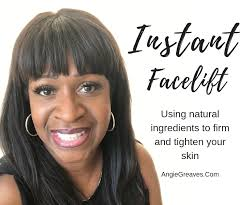 instant homemade facelift angie greaves