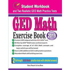 GED Math Exercise Book - By Reza Nazari & Ava Ross (Paperback) : Target