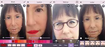 youcam makeup app puts a virtual