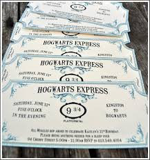 Party Prep Invitaciones De Harry Potter Boda De Harry Potter