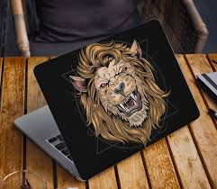 Lion Laptop Skin Sticker Animal Notebook Vinyl Decal Dell Hp Etsy In 2020 Laptop Decal Chromebook Asus