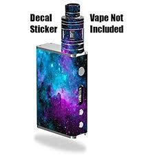 Amazon Com Vinyl Decal Sticker Skin Wrap For Smok Micro One Kit Vape E Cig Mod Box Nebula Galaxy Space Design Pattern Print