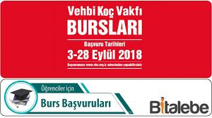 Vehbi Koç Vakfı Üniversite Burs Duyurusu (2018-2019) -