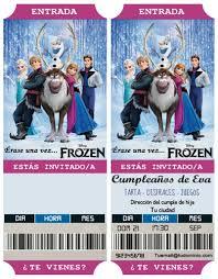 Invitaciones De Cumpleanos Frozen Base Echo
