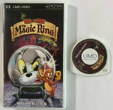 PSP UMD Video Tom and Jerry The Magic Ring Academy Collection English Japan  for sale online