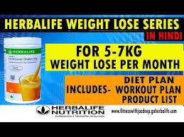 herbalife weight loss demo hindi