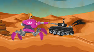 Xe tăng chiến đấu 1   phim hoạt hình xe tăng đại chiến   hills of steel -  Surprisedfarmer.com