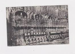 VINTAGE WESTMINSTER ABBY HENRY VII LADY CHAPEL POST CARD RPPC   eBay