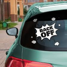 15 Cool And Funny Rear Window Decals And Tips To Lighten Up The Traffic
