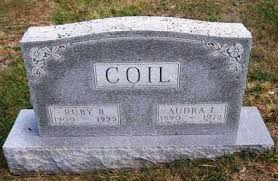 COIL, AUDRA LEE - Madison County, Iowa | AUDRA LEE COIL - Iowa Gravestone  Photos