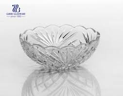 lotus shape small glass cooking bowls