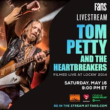 Tom Petty Livesteam - Saturday, May 16th! • Red Light Management