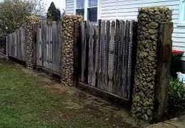 Gabion Stone Pillars And Columns Fences Gate Post Supplies Dream Backyard Garden Gate Post Gabion Stone