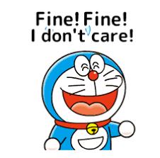 doraemon moving quotes by fujiko pro sticker