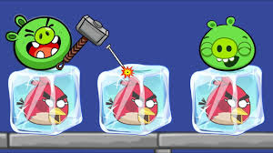 Unfreeze Angry Birds - RESCUE THE FROZEN BIRDS BY BREAKING ICE ...