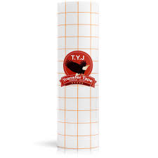 How To Make Multi Layer Vinyl Decals Cricut Tyj Transfer Tape For Vinyl Paper Roll 12 X 16 Ft Clear W Dark Yellow Alignment Grid Perfect For Cricut Cameo Silhouette Self Adhesive