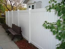 Image Result For Fence Gap Blocker Vinyl Fence White Vinyl Fence Fence