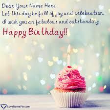 red velvet cupcake birthday wishes