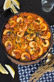 Shrimp and Chorizo Paella Recipe - Easy ...