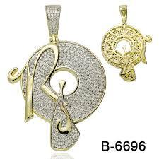 hip hop pendant 925 sterling silver