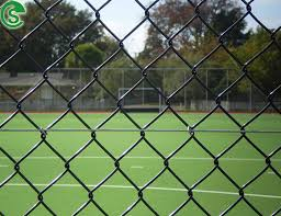 9 Gauge Black Vinyl Coated Cyclone Wire Fencing Price Philippines For Sale Chain Link Fence Manufacturer From China 108128624