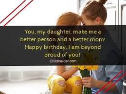 best birthday messages to wish your daughter as mom child insider