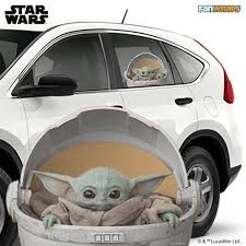 Official The Child Star Wars Car Window Decals Car Window Decals Car Window Decals