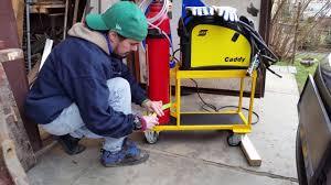 diy welding cart you