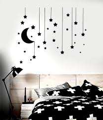 Vinyl Wall Decal Stars Crescent Moon Dream Bedroom Ideas Sti In 2020 Wall Decor Bedroom Bedroom Wall Paint Wall Decals Living Room