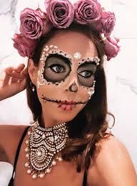 día de los muertos makeup ideas for