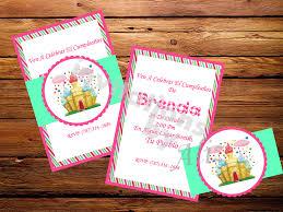 Invitacion Candy Land Invitations By Aliz
