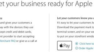 Apple Now Providing Apple Pay Window And Register Decals To Businesses Macrumors