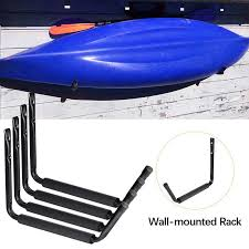 4 Pcs Indoor Kayak Storage Rack Utility Rack Heavy Duty Garage Hangers Wall Mount Or Dock Hanging Hooks For Canoe Paddle Board Surfboard Snow Board Ladder Shopee Philippines