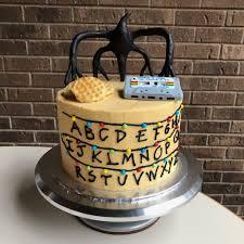 isaac s stranger things cake lidbom