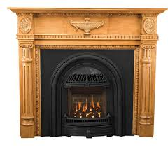 small vintage style fireplace mantels