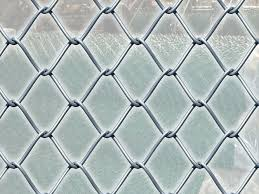 Chain Link Fence Of Galvanized And Pvc Coated Galvanized Mesh